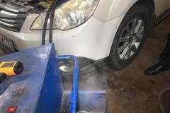 Промывка радиатора печки (без снятия)